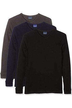NAVIGARE 114, shirt met lange mouwen voor heren, verpakking van 3 stuks - multi - XX-Large