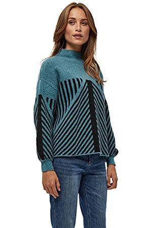 Peppercorn Jayda Sweater voor dames, Storm Blue Melange, XXL