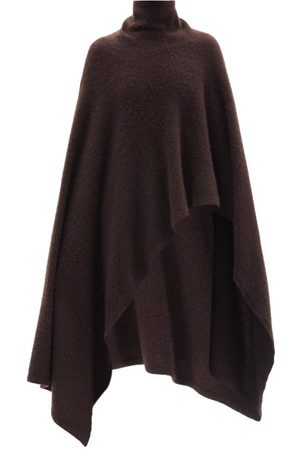 The Row Dafin Roll-neck Cashmere-blend Poncho