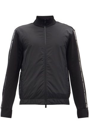 Moncler Logo-tape Cotton-jersey Track Jacket