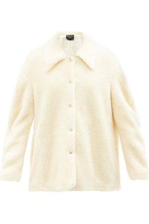 A.W.A.K.E. MODE Oversized Faux-shearling Coat