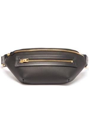 Tom Ford Buckley Grained-leather Belt Bag