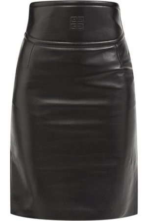 Givenchy Dames Kokerrokken - 4g-embossed Cutout Leather Pencil Skirt