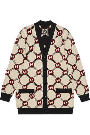 Gucci Reversible Interlocking G wool cardigan