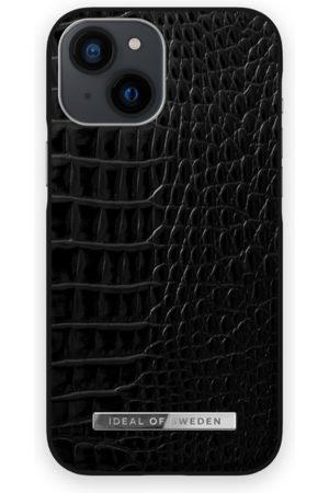 IDEAL OF SWEDEN Telefoon - Atelier Case iPhone 13 Mini Neo Noir Croco Silver