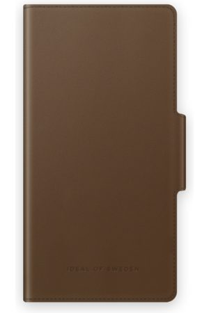 IDEAL OF SWEDEN Atelier Wallet iPhone 13 Intense Brown