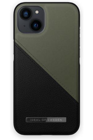 IDEAL OF SWEDEN Telefoon - Atelier Case iPhone 13 Onyx Black Khaki