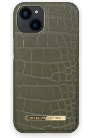 IDEAL OF SWEDEN Telefoon - Atelier Case iPhone 13 Khaki Croco
