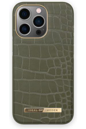 IDEAL OF SWEDEN Telefoon - Atelier Case iPhone 13 Pro Khaki Croco