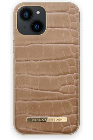 IDEAL OF SWEDEN Telefoon - Atelier Case iPhone 13 Mini Camel Croco