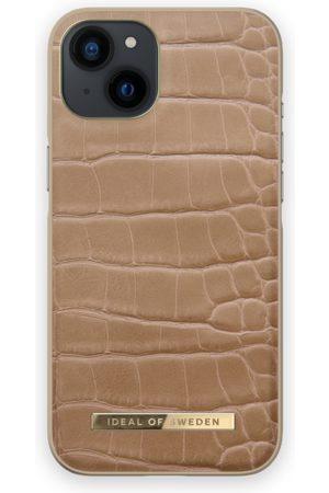 IDEAL OF SWEDEN Telefoon - Atelier Case iPhone 13 Camel Croco