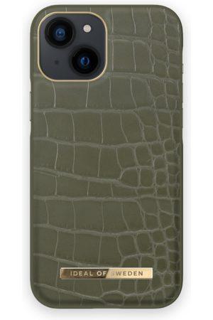 IDEAL OF SWEDEN Telefoon - Atelier Case iPhone 13 Mini Khaki Croco