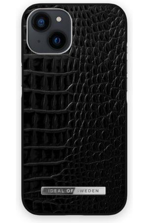 IDEAL OF SWEDEN Telefoon - Atelier Case iPhone 13 Neo Noir Croco Silver