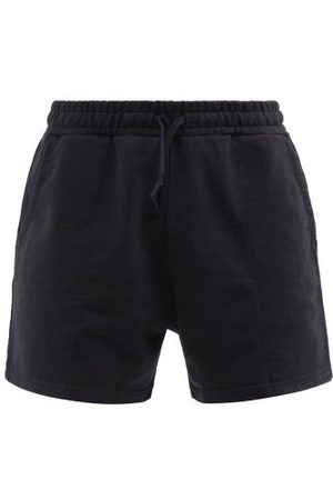 CDLP Embroidered Recycled And Organic Cotton Shorts