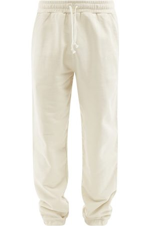 CDLP Embroidered Recycled Organic Cotton Track Pants