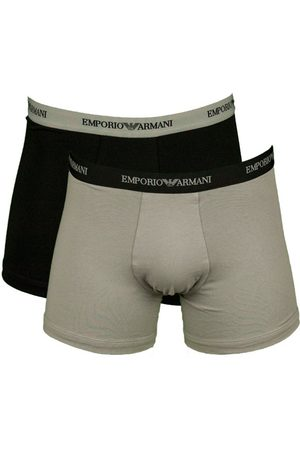 Armani Boxershorts Core 2-pack -grijs